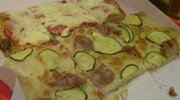 Pizzas em Roma