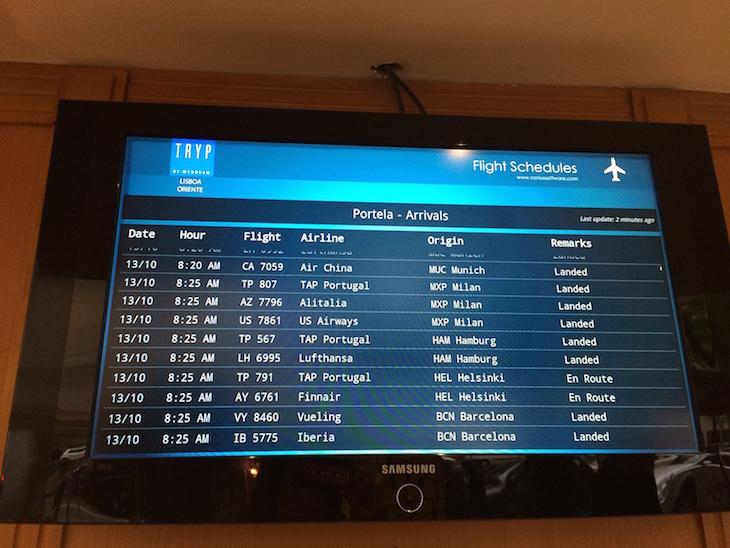 Informações do aeroporto