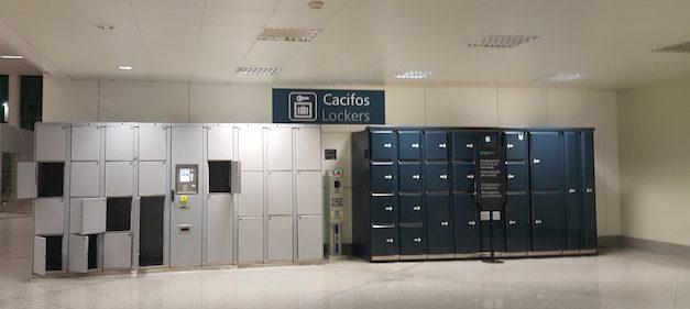 Cacifos no Aeroporto do Porto © Viaje Comigo