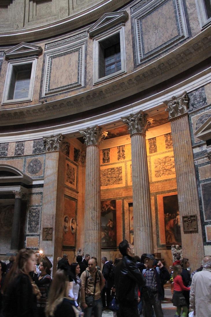 Panteão, Roma © Viaje Comigo