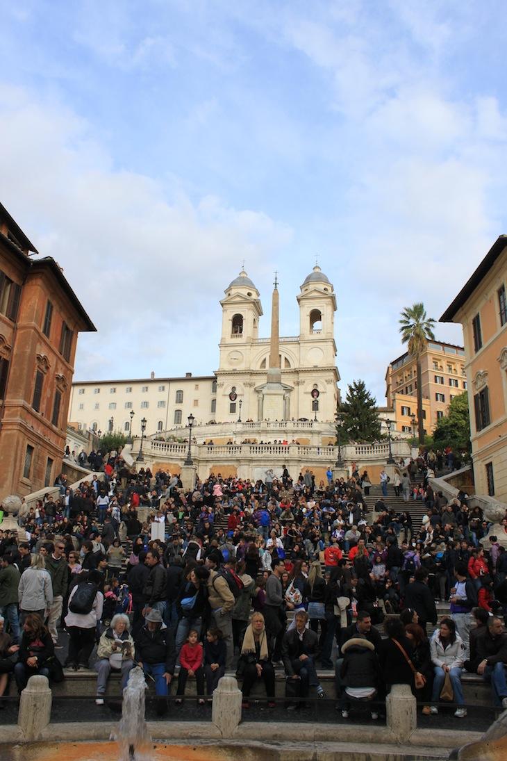 Praça de Espanha, Roma © Viaje Comigo