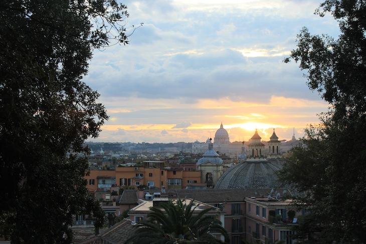 Vista sobre Roma
