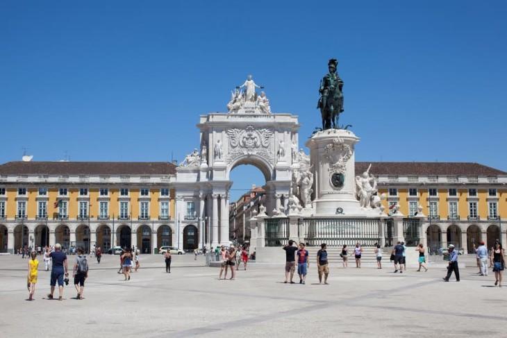 Arco da Rua Augusta - Lisboa ©Câmara de Lisboa