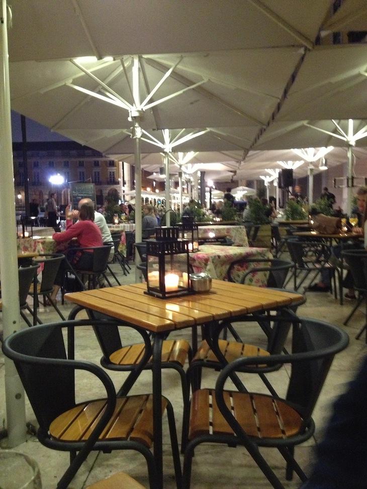 Restaurante Populi no Terreiro do Paço