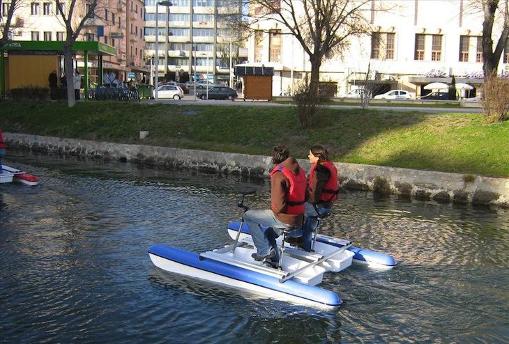 BACA -Bicicleta Aquática da Cidade de Aveiro