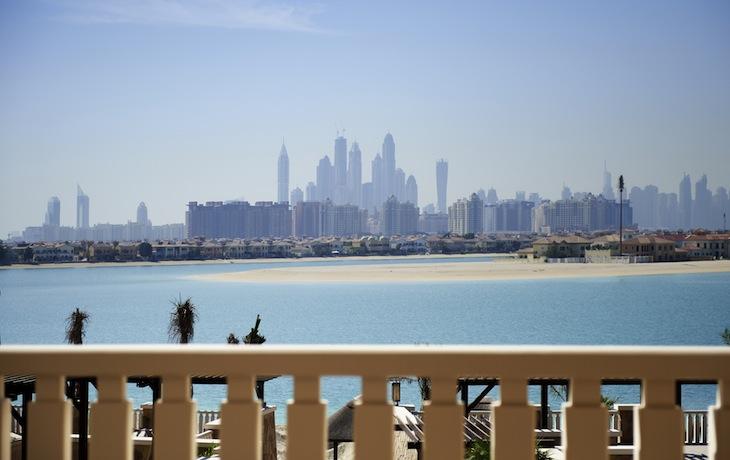 Vistas do Sofitel the Palm Dubai