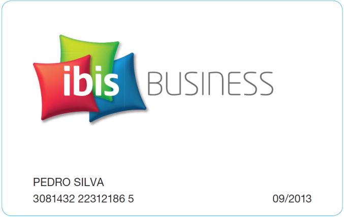 Cartão ibis BUSINESS