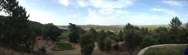Vista do campo de golfe do Vidago Palace