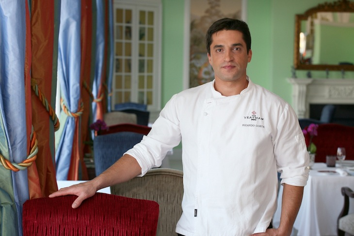 The Yeatman Chefe Ricardo Costa