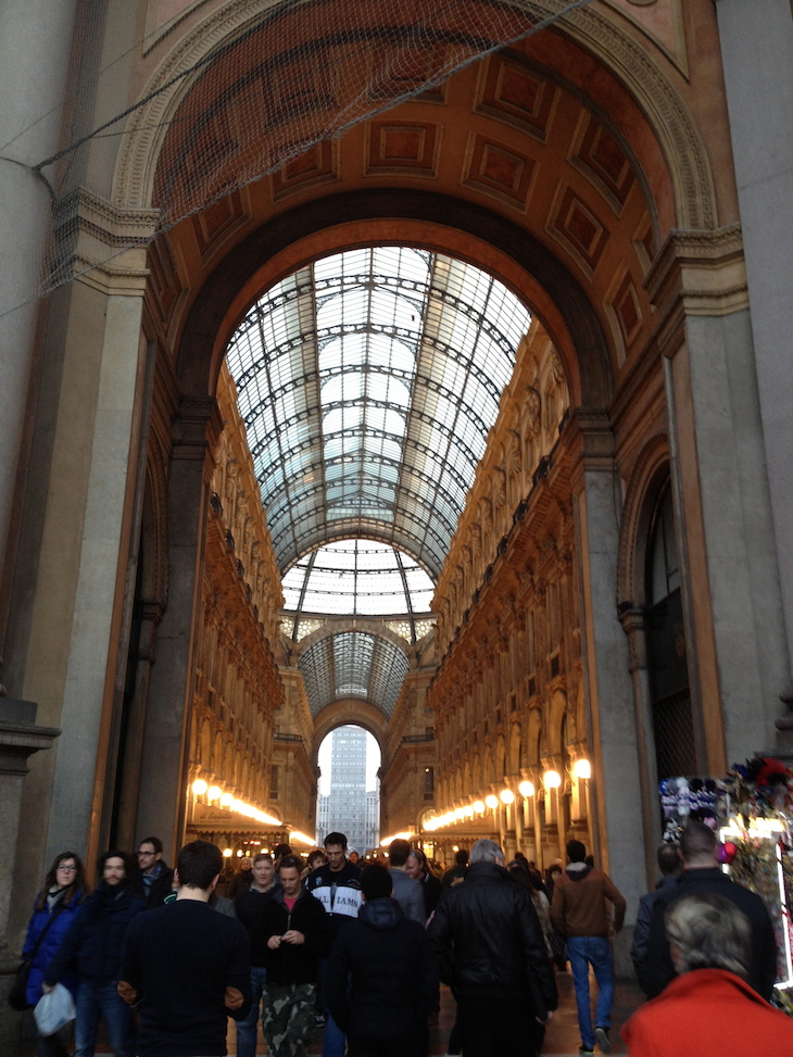 Galerias Vittorio Emanuelle © Viaje Comigo