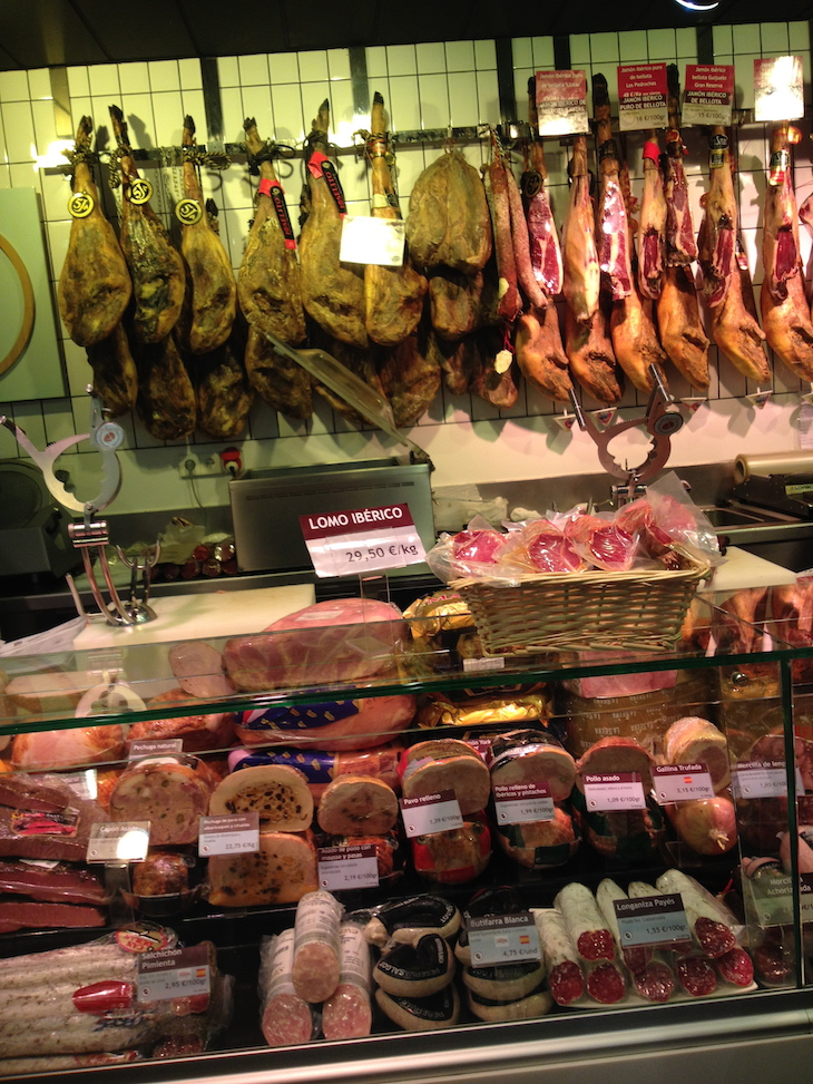 Mercado de San Antón, em Madrid