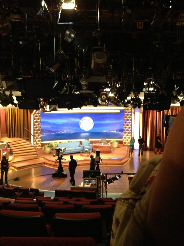 Conan O'Brien Show, Los Angeles