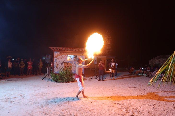 Espetáculo em Cayo Blanco - Varadero - Cuba © Viaje Comigo