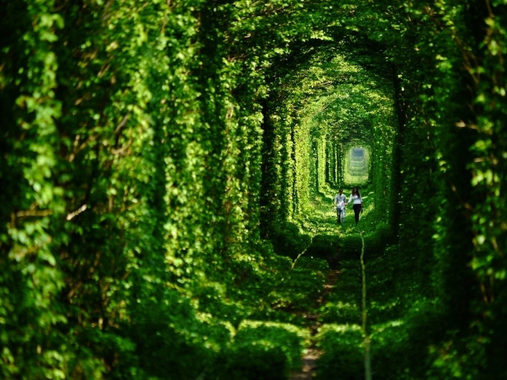 Klevan Túnel Ucrânia