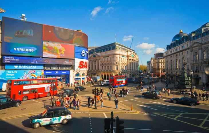 Londres, Piccadily Circus