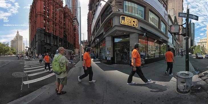 Man Walking New York