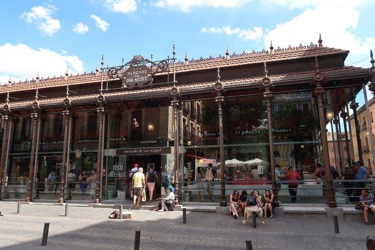Mercado San Miguel, Madrid, Espanha © Viaje Comigo