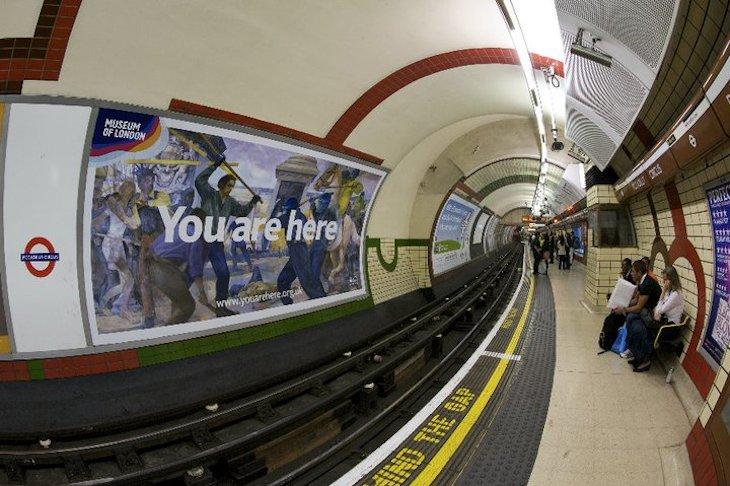 Metro em Londres