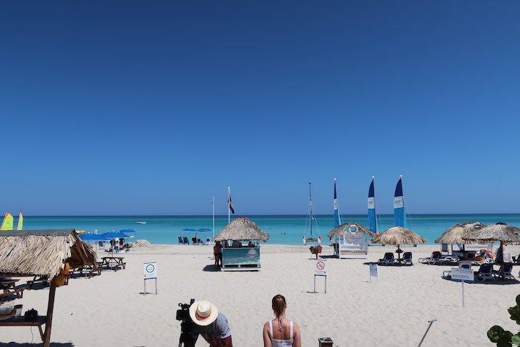 Praia do Grand Memories Varadero - Cuba © Viaje Comigo