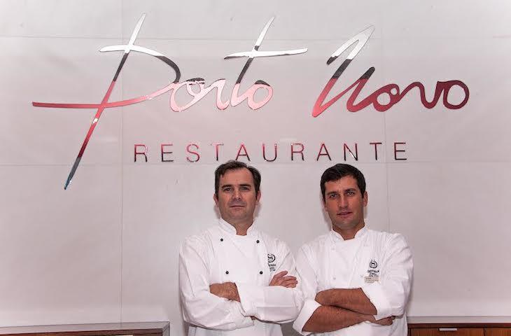 Equipa do restaurante Porto Novo do Sheraton Porto Hotel & SPA.