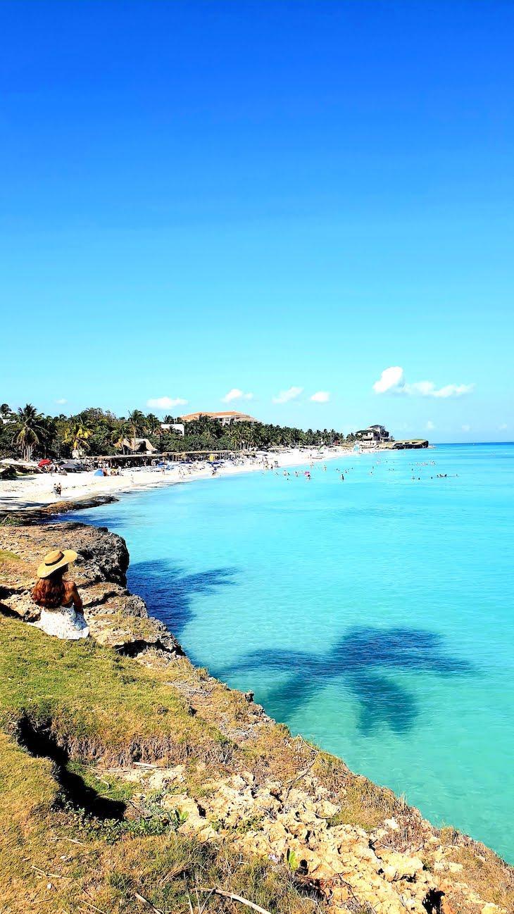 Praia junto do Melia Varadero - Cuba © Viaje Comigo