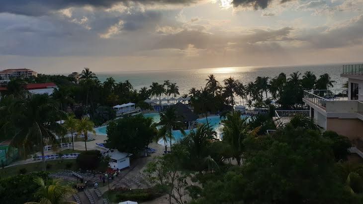 Vista do meu quarto do Melia Varadero, Cuba © Viaje Comigo