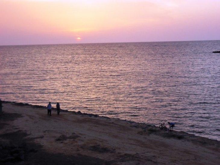 Praia em Bata