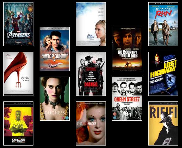 Filmes em viagem