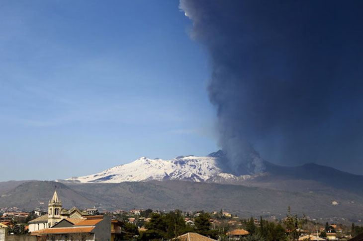 Vulcão Etna, Itália