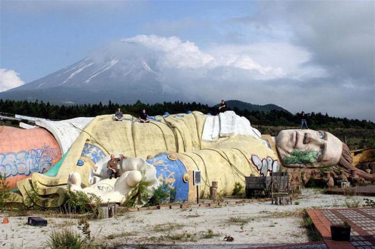 Parque de Viagens de Gulliver, em Kawaguchi, no Japão
