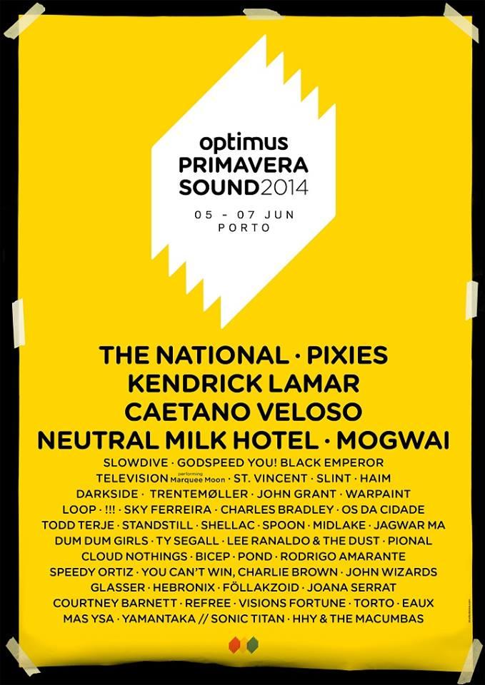 Primavera Sound Porto