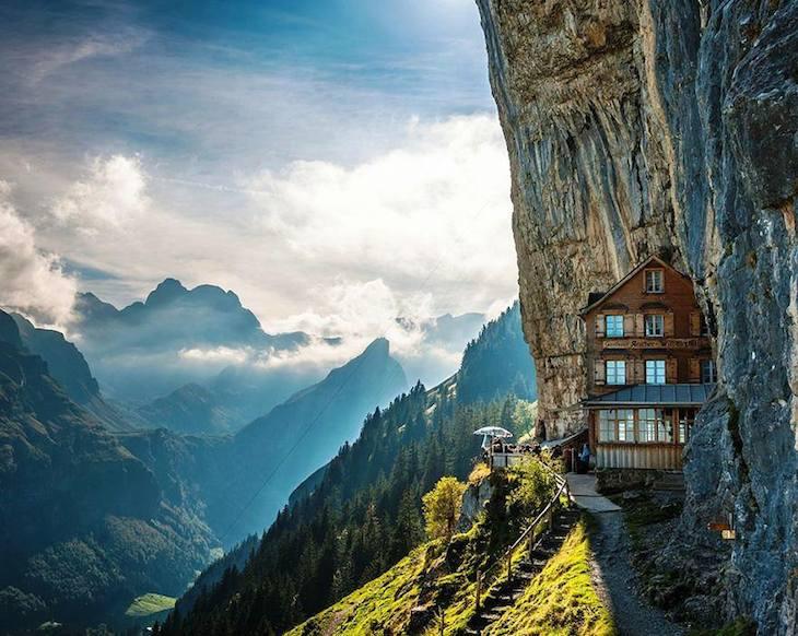 Ascher Cliff na Suíça