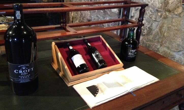 Caves de vinho do Porto Croft © Viaje Comigo