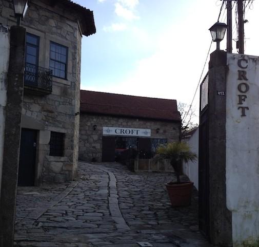 Caves de vinho do Porto Croft