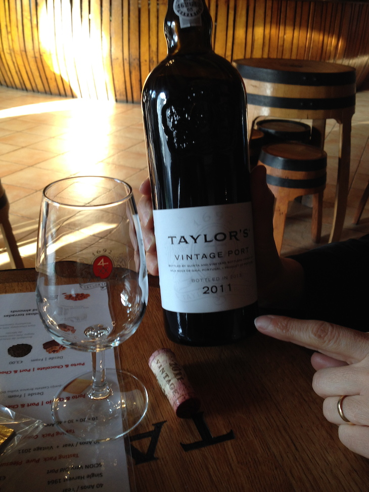 Caves de vinho do Porto Taylor's