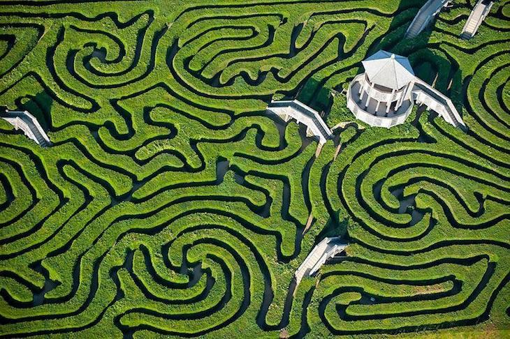 Labirinto de Longleat, Inglaterra
