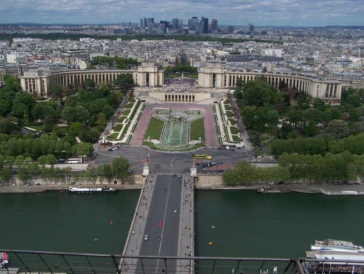 Vista da Torre Eiffel, Paris © Viaje Comigo