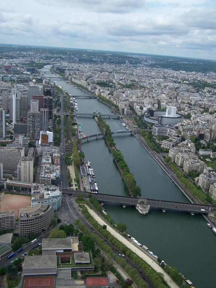 Vista da Torre Eiffel, Paris
