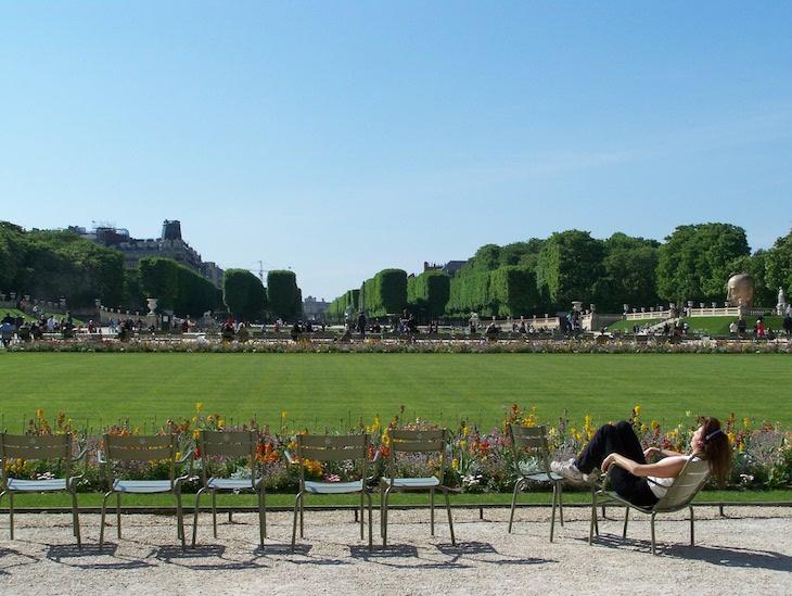 Jardim de Luxemburgo, Paris © Viaje Comigo