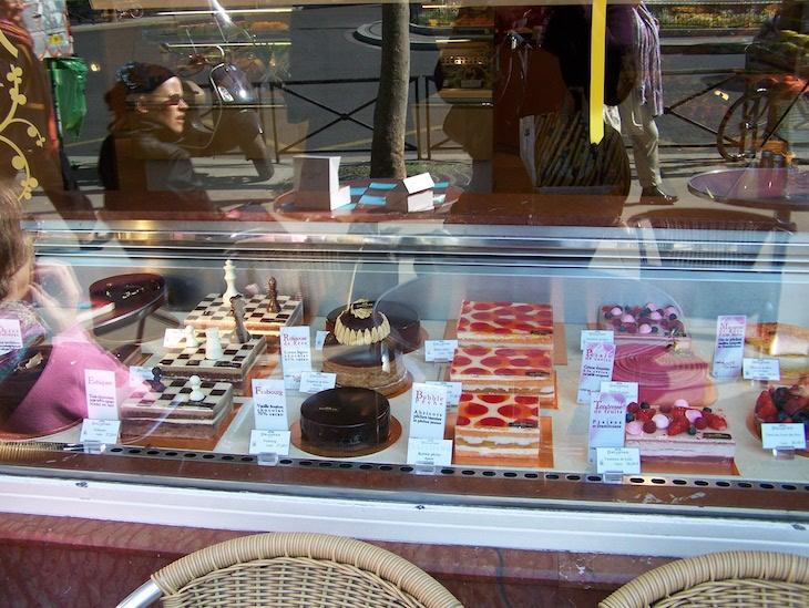 Pastelaria em Paris