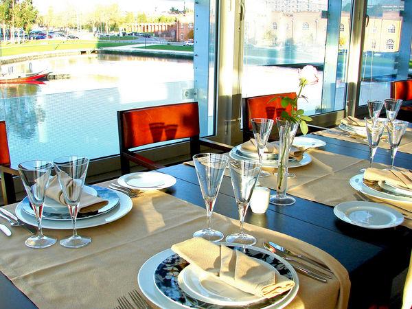 Restaurante Do Lago, do Meliá Ria Hotel & Spa, Aveiro