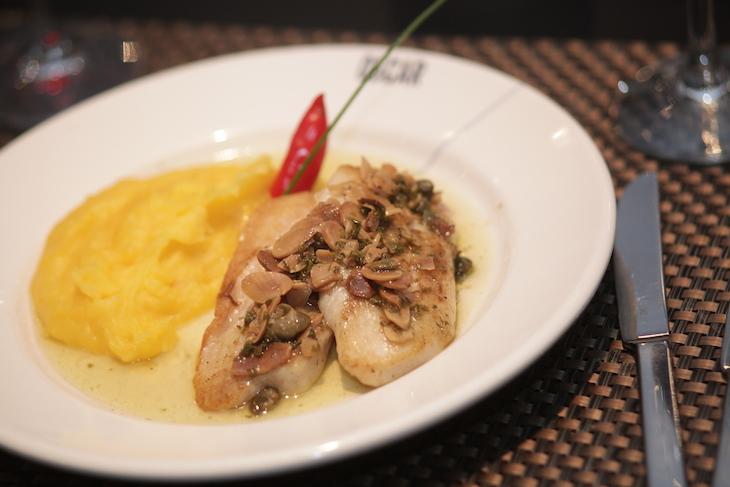 Jantar no Restaurante Oscar - Hotel Brasília Palace