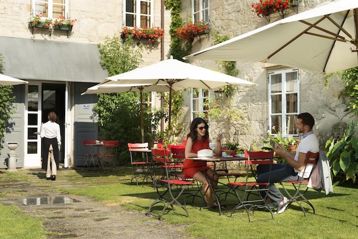 Terraza QCafe Plano Gral Hotel **** A Quinta da Auga