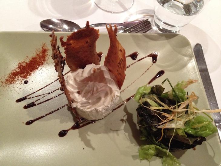Restaurante do Chateau de Creissels, Millau, França © Viaje Comigo
