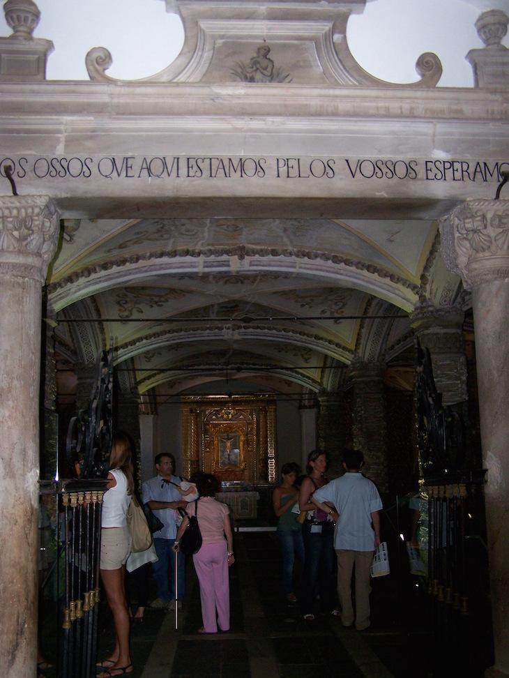 Capela dos Ossos, Évora © Viaje Comigo