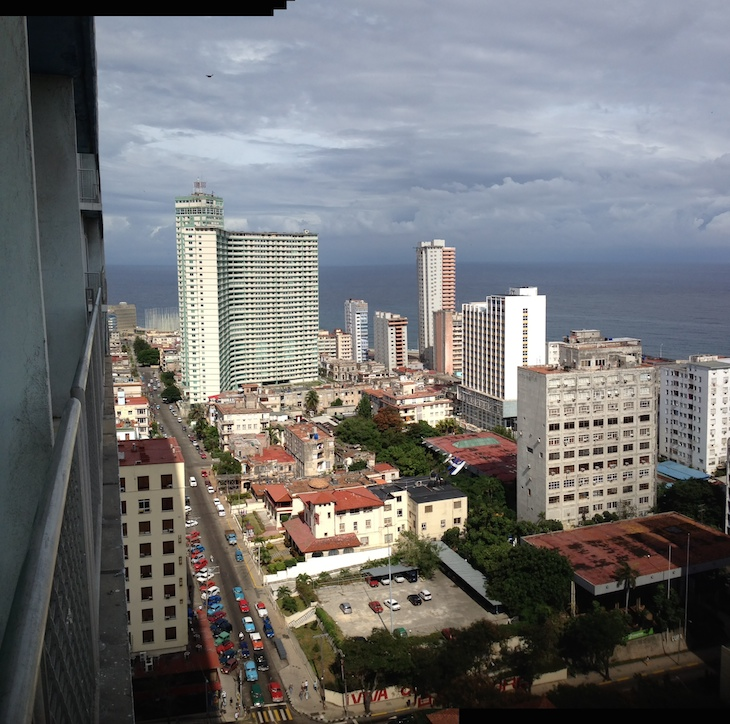 Vista do hotel Habana Libre