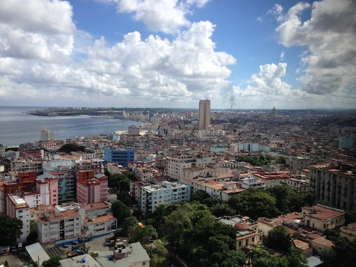 Vista do hotel Habana Libre - Cuba © Viaje Comigo