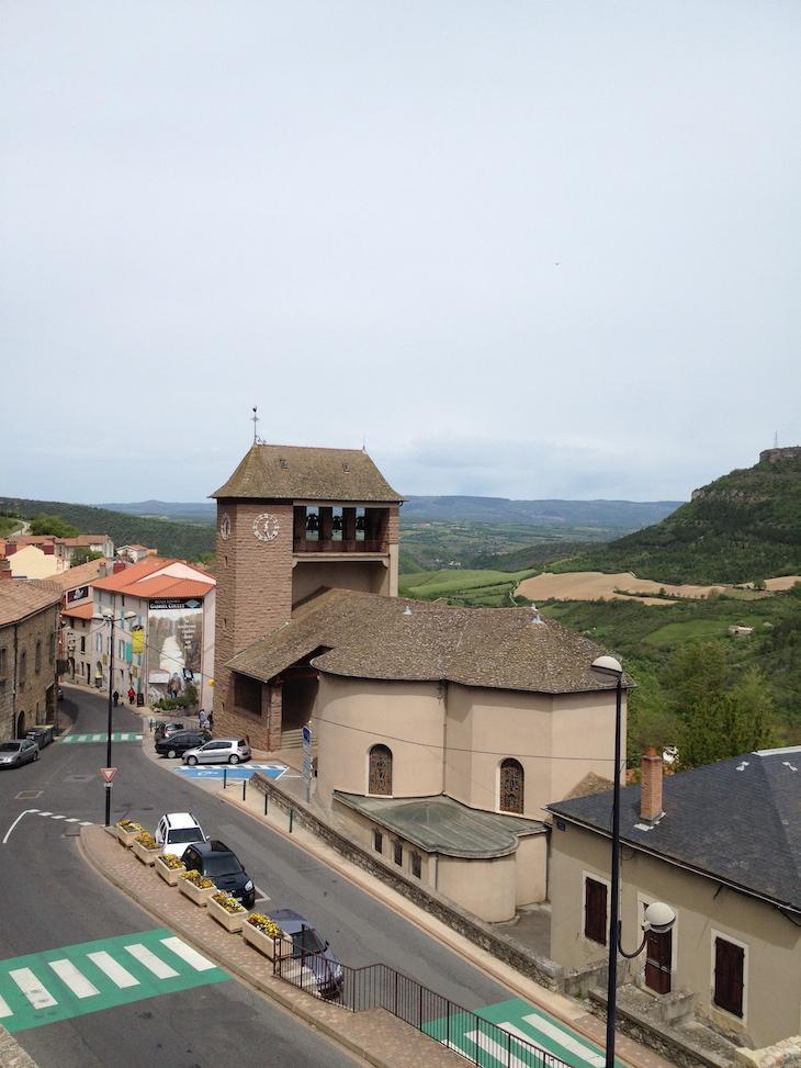 Roquefort-sur-Soulzon, Aveyron, França © Viaje Comigo