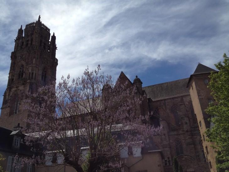 Rodez, Aveyron, França © Viaje Comigo
