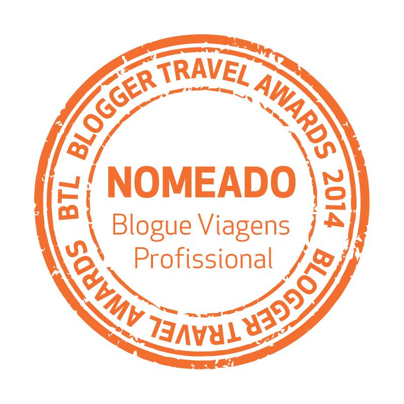 Viaje Comigo nomeado como Melhor Blogue de Viagens Profissional dos BTL Blogger Travel Awards 2014